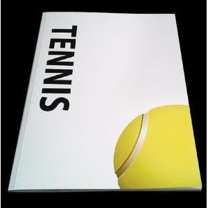 テニスノート5冊セット B5 ミシン綴じタイプ|secondlives