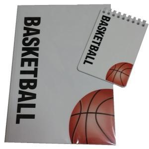 バスケットボールノート 2点セット スポーツノート+戦略ハンディメモ帳|secondlives