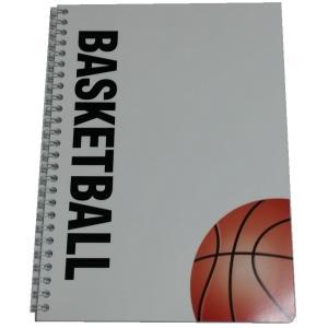 バスケットボールノート B5 Wリングタイプ スポーツノートシリーズ secondlives