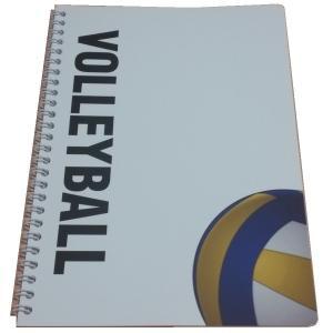 バレーボールノート5冊 B5 Wリングタイプ スポーツノートシリーズ|secondlives