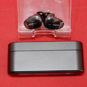 SONY ソニー WF-1000X BM 完全ワイヤレスノイズキャンセリングイヤホン 左右分離型 B...