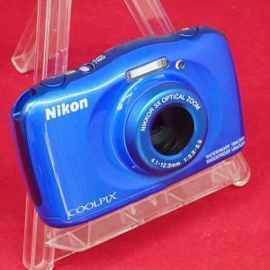 Nikon ニコン COOLPIX W150 防水・耐衝撃性・耐寒・防じん 1317万画素 ブルー ...