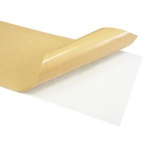 スケボー スケートボード デッキテープ ロングボード向き バルク品(BULK) 標準グリップ 透明クリア 11×44インチ 気泡抜き穴有