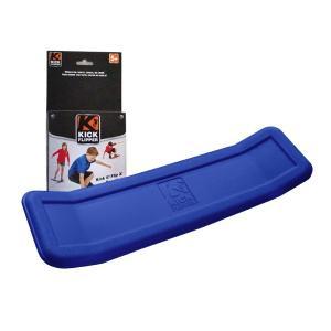 KICK FLIPPER (YO BABY後継品) 青ブルー スケートボード練習用プラスチックトレーニングデッキ