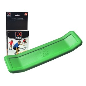 KICK FLIPPER (YO BABY後継品) 緑グリーン スケートボード練習用プラスチックトレーニングデッキ