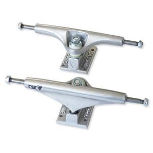 THEEVE 6.5Hi V3 高強度 CSX 銀/銀(9インチデッキ向き) スケートボード トラック 2個セット
