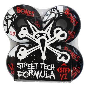 """BONES STFシリーズ""""V1 SERIES 53MM STF""""です。 4個セット(スケートボード..."""