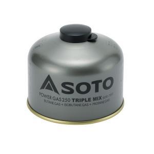 ソト SOTO パワーガス250トリプルミックス SOD‐725T|sector3