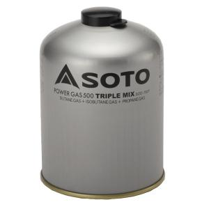 ソト SOTO パワーガス500トリプルミックス SOD‐750T|sector3