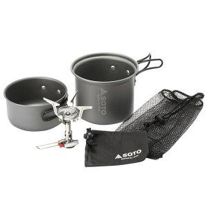 ソト SOTO バナー シングルバーナー アミカスクッカーコンボ SOD‐320CC|sector3