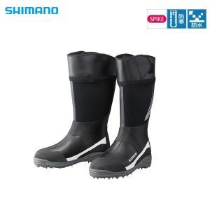 シマノ サーマルスパイクブーツ FB‐007R ホワイト L sector3