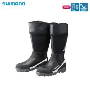 シマノ サーマルスパイクブーツW(ワイドタイプ) FB‐008R ホワイト L sector3