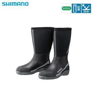 シマノ サーマルラジアルブーツW(ワイドタイプ) FB‐018R グレー L sector3