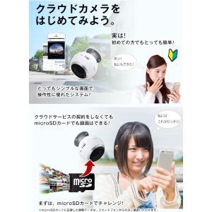 防犯カメラ ネットワークカメラ VR 360° ワイヤレス クラウド|secu|07