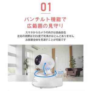 防犯カメラ ネットワークカメラ ペットカメラ ワイヤレス クラウド|secu|05