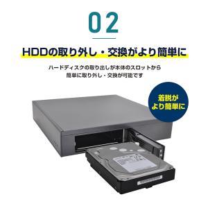 防犯カメラ 録画装置 AHD 最大 8TB 対応|secu|03
