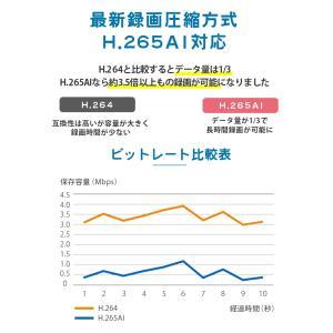 防犯カメラ 屋外 セット 監視カメラ PoE secu 06