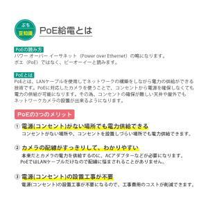 防犯カメラ 録画装置 PoE 最大 8TB 対応|secu|05