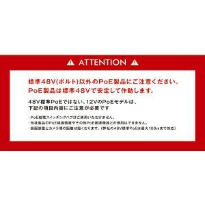 防犯カメラ レコーダー 4ch PoE 最大 8TB secu 06