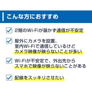 PLCアダプター 高速インターネット 親機 子機 防犯ステーション 防犯カメラ 高速電力通信 200Mbps LAN|secu|06
