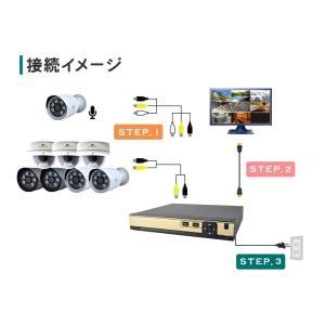 防犯カメラ ネットワークカメラ 用HDD レコーダー 8TB 対応バレット ドーム ボックス SC-XA82 8ch|secu|05