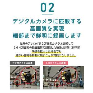 防犯カメラ ネットワークカメラ 用HDD レコーダー 8TB 対応バレット ドーム ボックス SC-XA82 8ch|secu|07