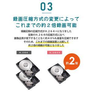 防犯カメラ ネットワークカメラ 用HDD レコーダー 8TB 対応バレット ドーム ボックス SC-XA82 8ch|secu|08