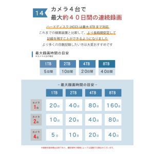 防犯カメラ 屋外 セット PoE 5台 から 8台|secu|20