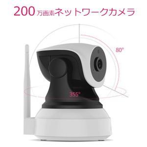 200万画素ネットワークカメラ 音声リンク Wi-Fi対応 かんたん設定 NC520 【secuOn】