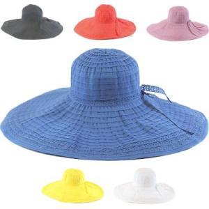 LAより★つば広18cmレーステープブレードハット帽子ロマンティックで女性らしいカワイイ帽子ホワイトブラックブルーパープルレッドLASeduce|seduce