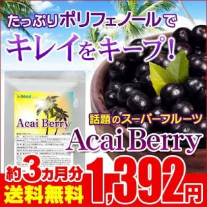 サプリ サプリメント アサイベリー 約3ヵ月分 ダイエット 食物繊維 ポリフェノール