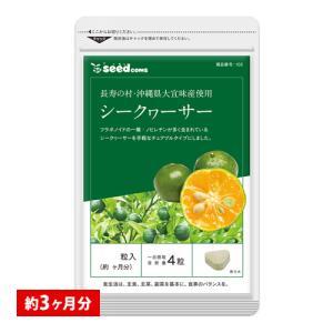 サプリ サプリメント ビタミンC シークワーサー 約3ヵ月分 ダイエット