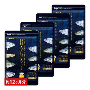 オメガ3 7種類の魚油を贅沢使用 オメガ3 DHA&EPA+DPA 約12ヵ月分 不飽和脂肪酸 ドコサヘキサエン酸 エイコサペンタエン酸 ドコサペンタエン酸|シードコムスPayPayモール店