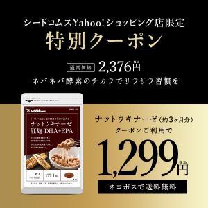 ナットウキナーゼ 紅麹入りナットウキナーゼ DHA EPA 約3ヵ月分 納豆なっとう