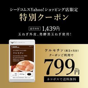 クーポンで399円 サプリ サプリメント サラサラの流れへ たまねぎケルセチンサプリ 約3ヵ月分 ダイエット