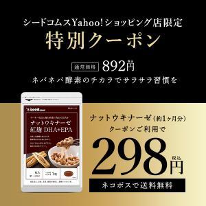 サプリ サプリメント ナットウキナーゼ 紅麹入りナットウキナーゼ DHA EPA 約1ヵ月分 納豆な...