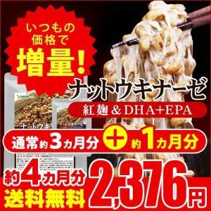 ナットウキナーゼ 紅麹入りナットウキナーゼ DHA EPA ...