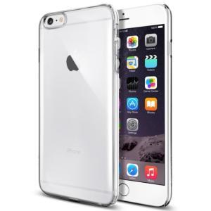 iPhone6 Plus ケース, Spigen シン ・フィット Apple iPhone (5.5) アイフォン 6 プラス カバー (国内正規品) (クリスタル・クリア 【SGP10885】)|seedjapan