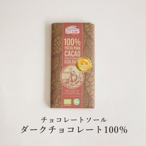 【冬季限定】チョコレートソール ダークチョコレート100% 100g