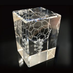 3Dカバラ バッキーカバラ  本物研究所 クリスタルガラス製 代引手数料無料|seedsneeds