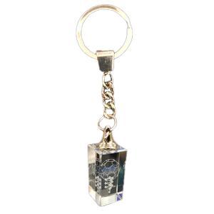 3Dカバラ バッキーカバラ キーホルダータイプ  本物研究所 クリスタルガラス製|seedsneeds