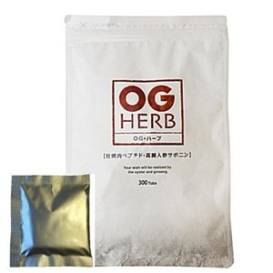 あすつく 5粒増量中 OGハーブ 300粒 牡蠣エキス サプリ カキエキス 高麗人参 酵素 OG HERB|seedsneeds