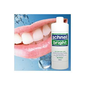 たっぷり500ml♪口臭 ホワイトニング 歯周病 虫歯 舌ゴケこれ1つですべてOK!生薬配合の究極のマウスウォッシュ「シュネルブライト」|seedsneeds