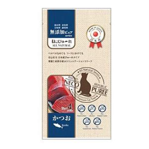 日本産 猫用おやつ ねこぴゅーれ 無添加ピュア PureValue5 かつお 4本入 sefety-shop