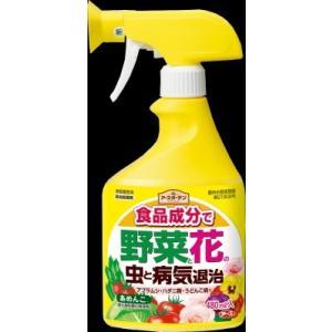 アースガーデン 食品成分で野菜と花の虫と病気退治 あめりんこ 480ml|segp-shop