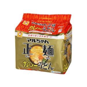 東洋水産 マルちゃん正麺 カレーうどん5P ×6個【送料無料】