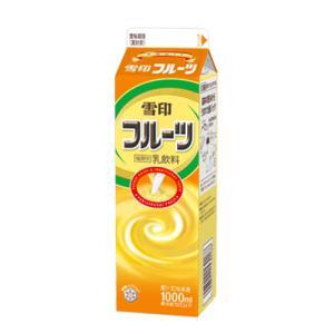 雪印メグミルク 雪印フルーツ 1000ml×6個 【冷蔵】 segp-shop