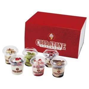 コールドストーン自慢の濃厚で口どけの良いアイスクリームにお菓子やフルーツをふんだんにトッピングしまし...