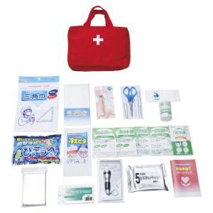 小型バッグで携帯できる、本格的な救急セット。応急手当て全般について記載のポケットブック付。  ●パッ...