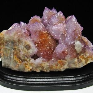 1Kg 南アフリカ産 カクタスアメジストクラスター パワーストーン 天然石 m20-1082|seian